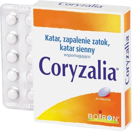 BOIRON Coryzalia stan katar.tabl.0.3g40szt