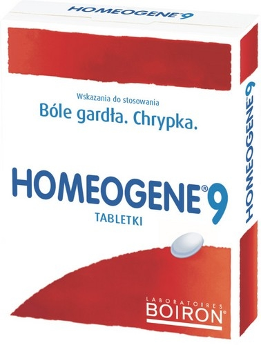 BOIRON Homeogene 9 ból gard.tabl.0.2g60szt