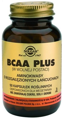 SOLGAR BCAA Plus Aminokwasy roz.łań.50 kap