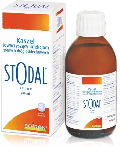BOIRON Stodal p/kaszl. syrop 200 ml