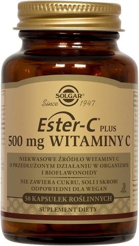 SOLGAR Ester C-Plus wit. C 500 mg 50 kaps.