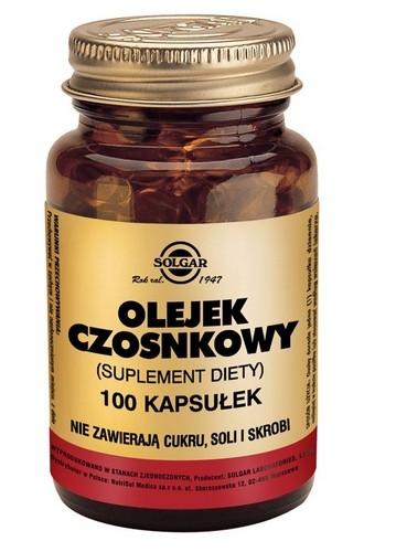 SOLGAR Olejek czosnkowy kaps. 1mg 100kaps.