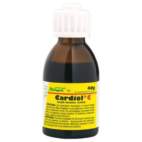 Cardiol C krople 40 g