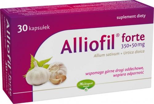 Alliofil forte kaps. 0,35g+0,05g 30 kaps.