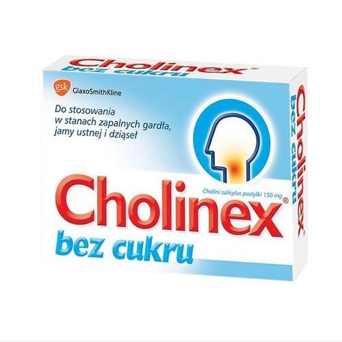Cholinex bez cukru 24 pastyl