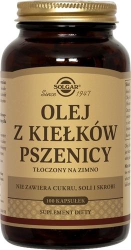 SOLGAR Olej z kiełków pszenicy 100 kaps.