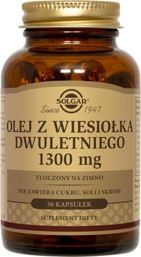 SOLGAR Olej z Wiesiołka Dwulet.1300mg 30ka