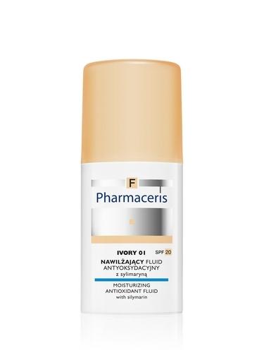 ERIS F Fluid nawilża 01 IVORY ,30 ml