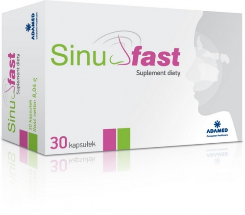 SinuFast kaps. 30 kaps.