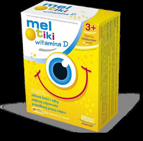 Meltiki Wit.D 3+ sm.wanil.tab.d/ss.60 tab