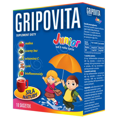 ZDROVIT Gripovita Junior 10+5 sasz.