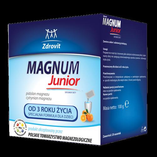 ZDROVIT Magnum Junior 20 sasz. | Apteka internetowa, antyperspirant, avent, bioderma, bioliq, canpol, cera trądzikowa preparaty, dermokosmetyki, geriavit, grzybica leki bez recepty, himalaya, kreon, leki bez recepty, leki na grypę, leki na przeziębienie, leki na uspokojenie, mascara med., maxigra go, maxon, mensil, mugga, mustela, odchudzanie leki, odporność, pirolam, tabletki na ból gardła, test ciążowy, tran mollers, vichy, witamina d, wszy preparaty, zapalenie stawów, zestawy kosmetyków, ziaja