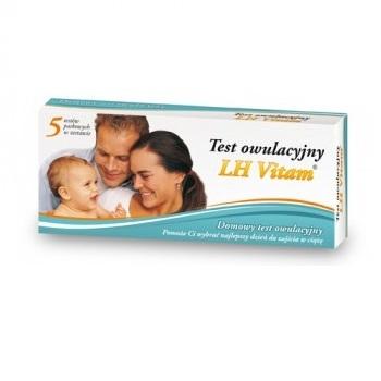 Test LH owulacyjny 1 op.(5 testów)