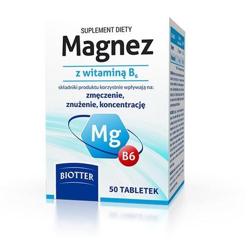 Magnez z witaminą B6 tabl.50 szt.Diagnosis