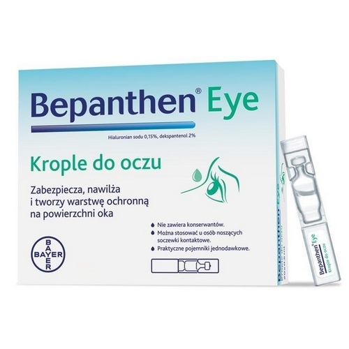 Bepanthen EYE krop.dooczu 10poj.a0,5ml