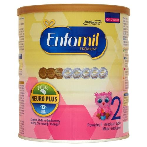Mleko ENFAMIL 2 PREMIUM 6-12 m-ca 800 g