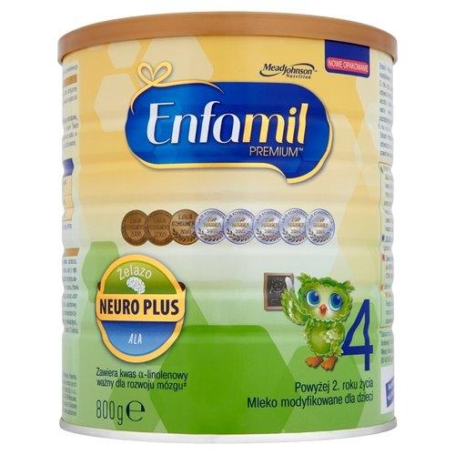 Mleko ENFAMIL 4 PREMIUM pow.2 roku 800 g