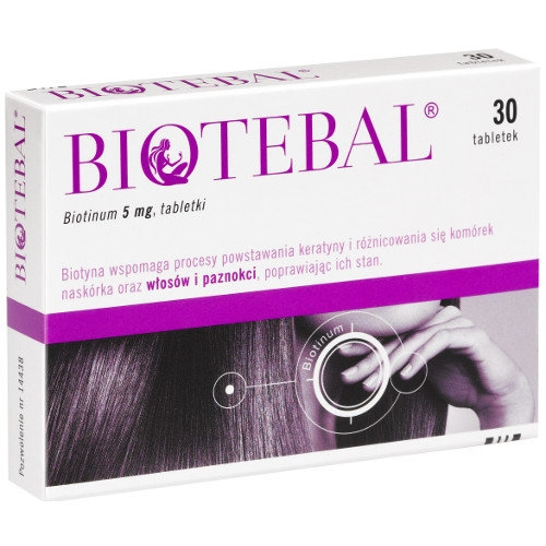 Biotebal  tabl. 5 mg 30 tabl.