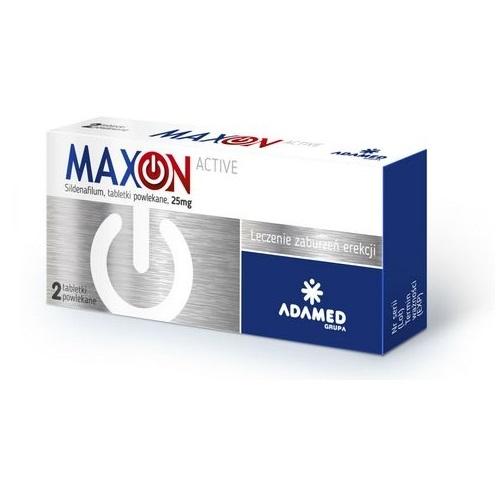 MAXON ACTIVE tabl.powl. 0,025 g 2 tabl.