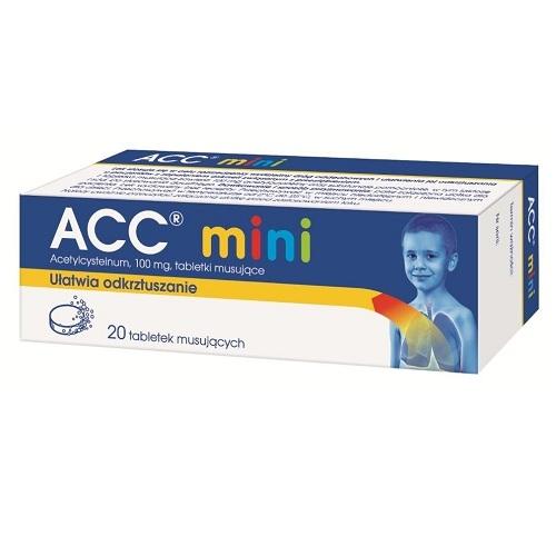 ACC 100 mini tabl.mus. 0.1 g 20 szt.