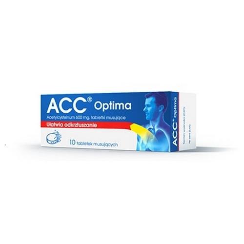 ACC 600 tabl.mus. 0.6 g 10 tabl.