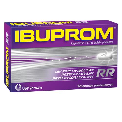 Ibuprom RR tabl.powl. 0,4 g 12 tabl.