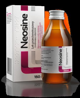 Neosine syrop 0,25 g/5ml 150 ml
