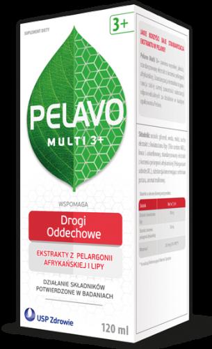 Pelavo Multi 3+ przezięb.i grypa 120 ml