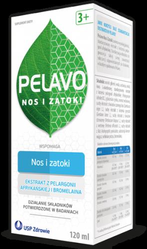 Pelavo Nos i Zatoki 120 ml