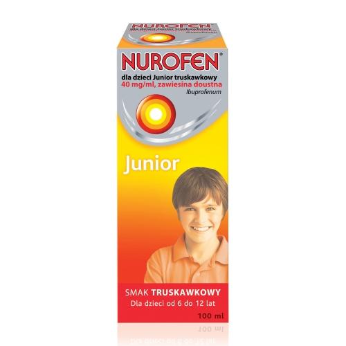Nurofen JUNIOR zaw. trusk.0,04g/ml 100 ml