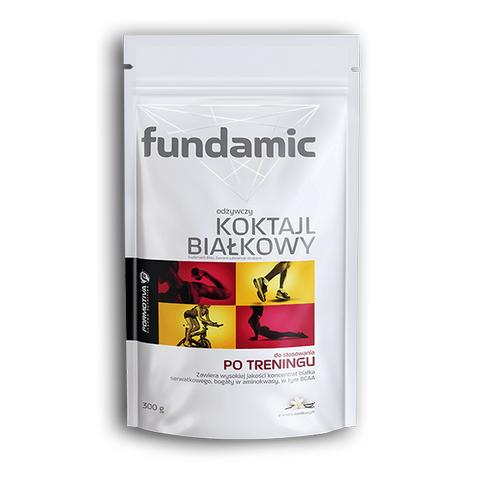 FUNDAMIC Koktajl białkowy smak wanil.300 g