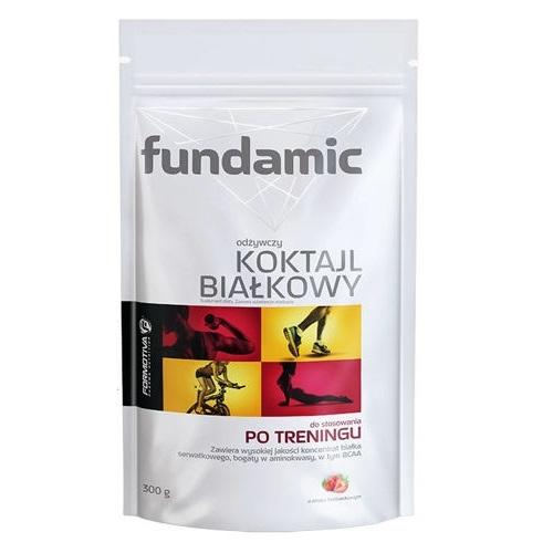 FUNDAMIC Koktajl białkowy smak trusk.300 g