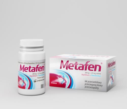 Metafen tabl. 0,2g+0,325g 50 tabl.