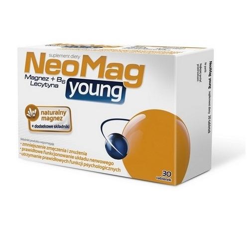 NEOMAG Young tabl. 30 tabl.