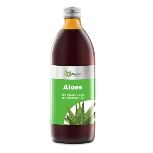 EkaMedica Aloes Sok z aloesu 99,8%  1000ml