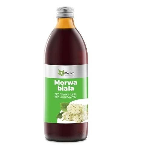 EkaMedica Morwa Biała 99,8% sok  1000 ml