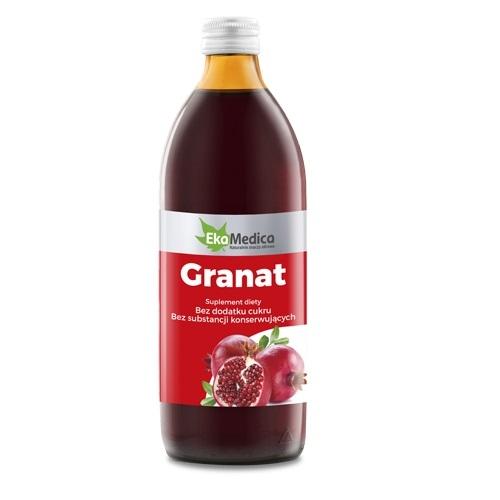 EkaMedica Granat 100%Sok płyn 1000 ml