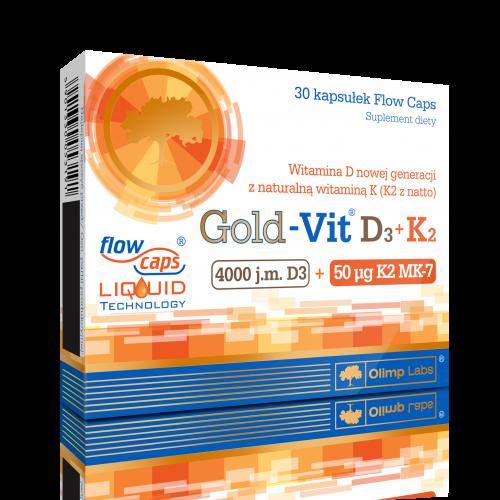 Olimp Gold-Vit D3+K2 kaps.twistoff 30kaps.