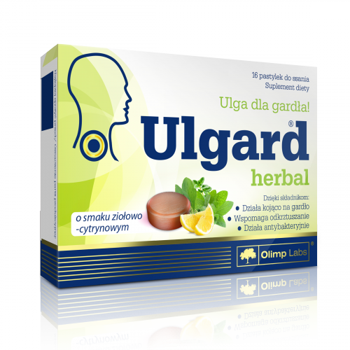 Olimp Ulgard Herbal ziołowo-cytr.16 tabl