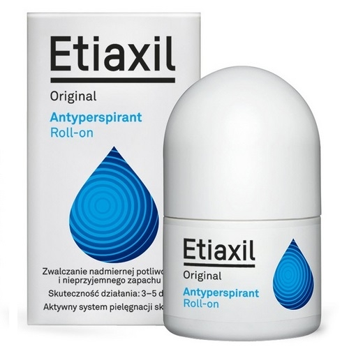 ETIAXIL ORIGINAL Antyperspirant płyn 15 ml