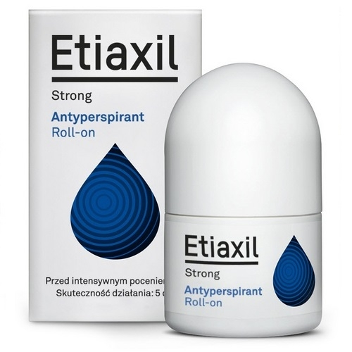 ETIAXIL STRONG Antyperspirant płyn 15 ml