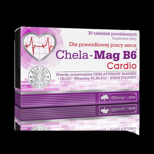 Olimp Chela-Mag B6 Cardio tabl.powl. 30tab