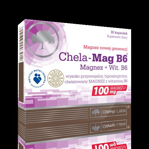 Olimp Chela-Mag B6 kaps. 30 kaps.