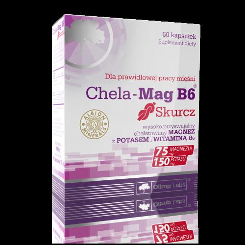 Olimp Chela-Mag B6 Skurcz kaps. 60kaps.