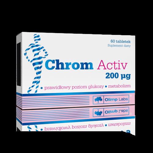 OLIMP Chrom Activ 200 mcg tabl.60 tabl.
