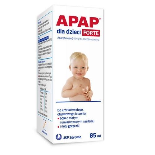 #Apap dla dzieci Forte zaw.dous.85ml zaw.