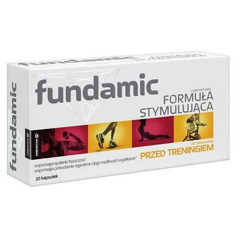 FUNDAMIC Formuła stymulująca 20 kaps.