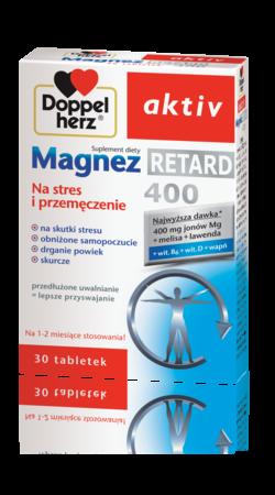 Doppelherz aktiv Magnez Retard 400 30 tabl