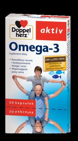 Doppelherz Aktiv Omega 3  na serce 30kaps.
