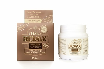 BIOVAX Maseczka argan/macadamia 500 ml